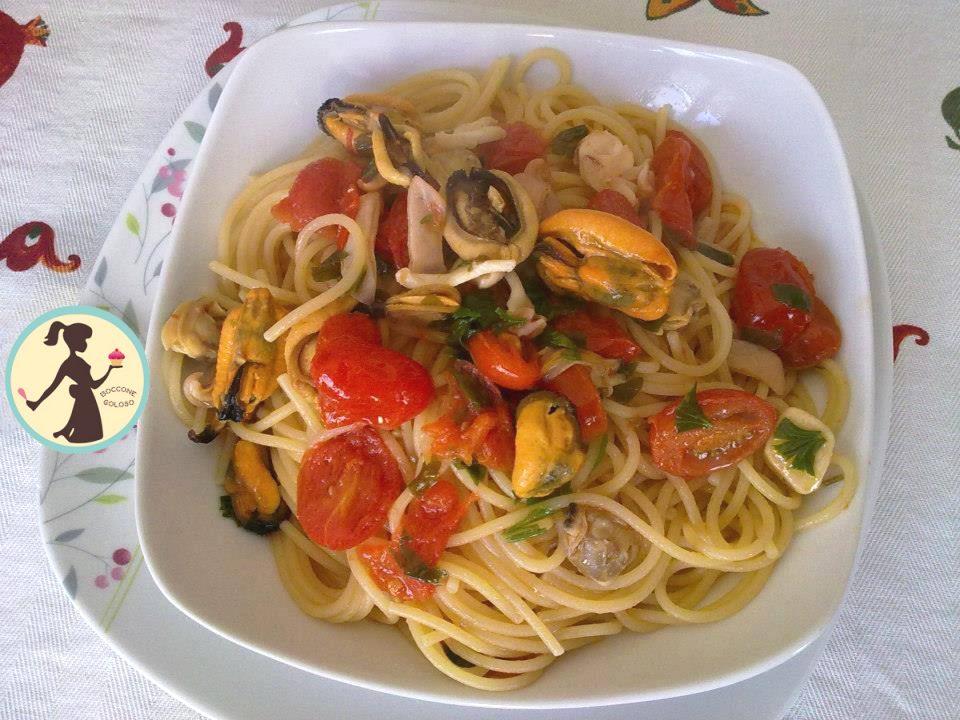 Spaghetti ai frutti di mare | Boccone Goloso
