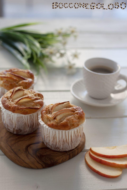 Muffin soffici alla mela e cannella