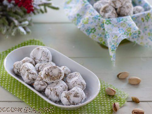 Biscotti Pizzicotti mandorle e pistacchi