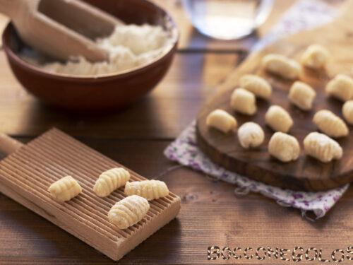Gnocchi senza patate solo acqua e farina