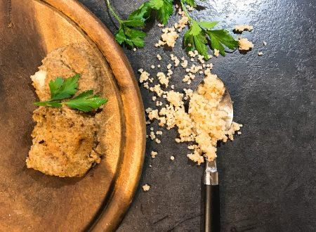 Burger di lenticchie e quinoa con cuore filante