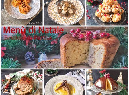 Menù di Natale dall'antipasto al dolce