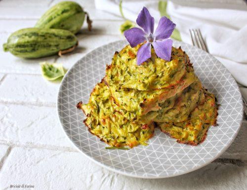 Rosti di zucchine  cipolle e speck