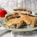 Cordon bleu di pollo ripieno di prosciutto cotto spinaci e mozzarella