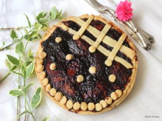 Crostata con frolla all'olio