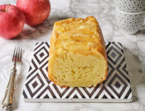 Plumcake rovesciato alle mele