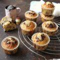 Muffin con cioccolato fondente a scaglie tipo mr. day