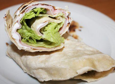 Pane indiano senza grassi: il Chapati/Wrap!