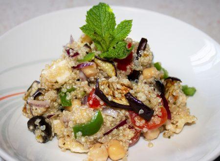 Insalata di Quinoa: fresca e salutare!