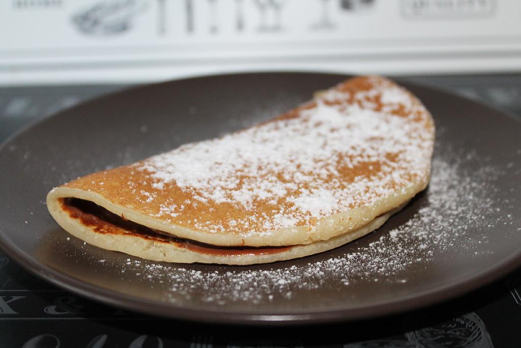 Ricetta Pancake Uova Farina E Latte.Pancakes Senza Uova E Senza Lievito Briciole Di Pane Fritte