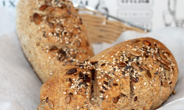 Pane ai cereali, ricetta con 4 farine