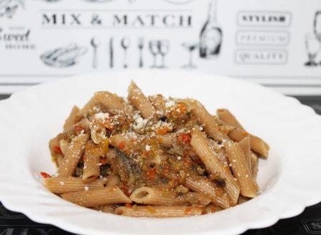 Ragù di verdure in bianco, perfetto con pasta integrale