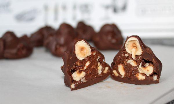 Cioccolatini Tipo Baci Fatti in casa