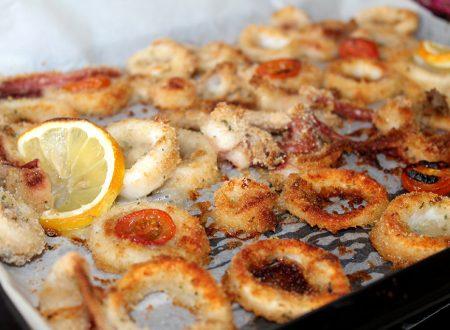 Calamari Gratinati al Forno, ricetta facile e veloce