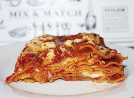 Lasagna, un classico della cucina italiana!