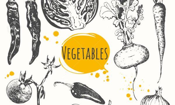 Riso semintegrale e verdure croccanti
