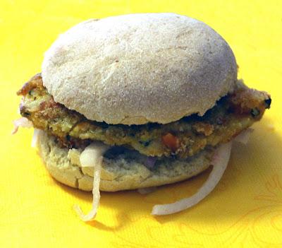 Burger di verdure e spezie