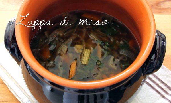 Zuppa al miso di orzo