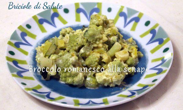 Broccolo romanesco alla senape