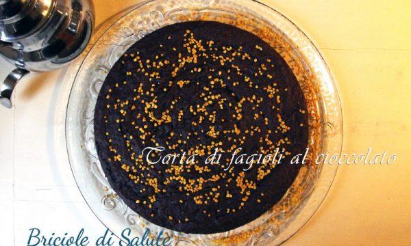 Torta di fagioli al cioccolato