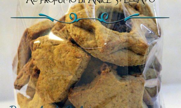 Biscotti di farro integrale al profumo di anice stellato