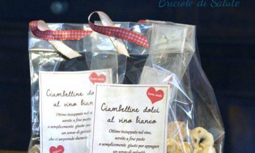 Ciambelline dolci al vino bianco