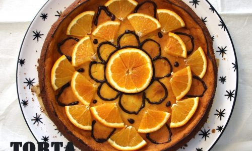 Torta alla ricotta e arancia senza zucchero