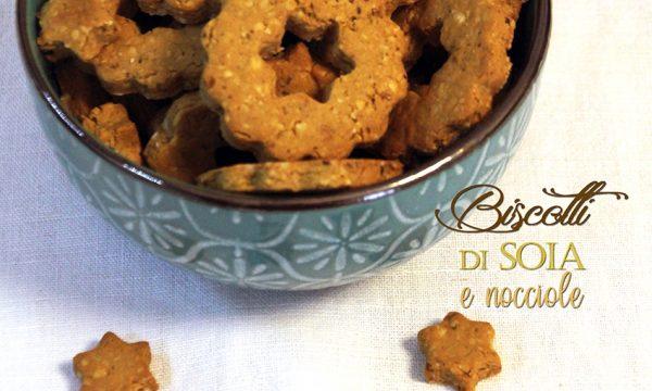 Biscotti di soia e nocciole