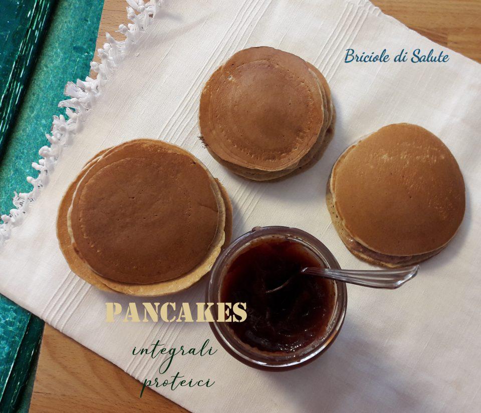 Pancakes integrali proteici