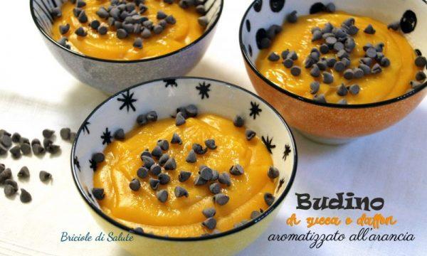 Budino di zucca e datteri aromatizzato all'arancia