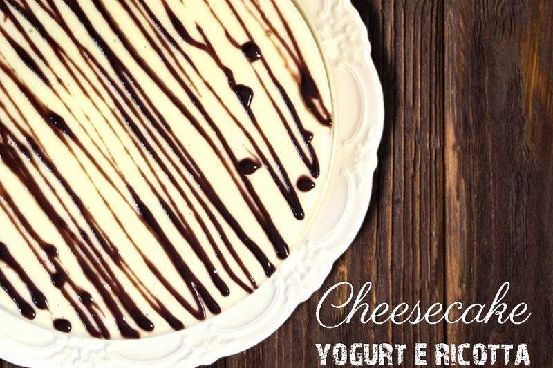 Cheesecake yogurt e ricotta senza burro