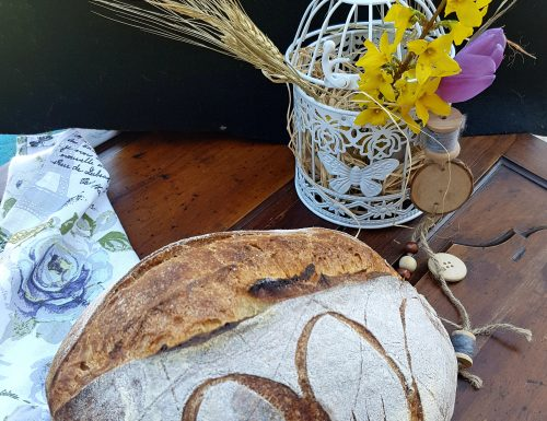 """Una """"pasta"""" di pane  (semola non rimacinata)"""
