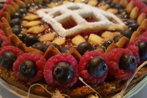 CHEES CAKE AL FORNO CON FRUTTA FRESCA