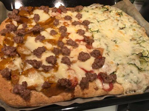 Pizza in teglia integrale