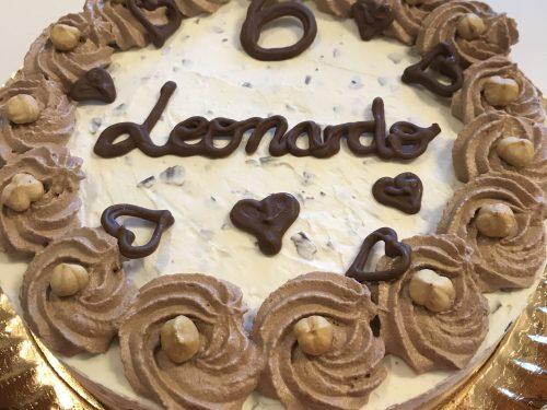 Torta semifreddo Rocher