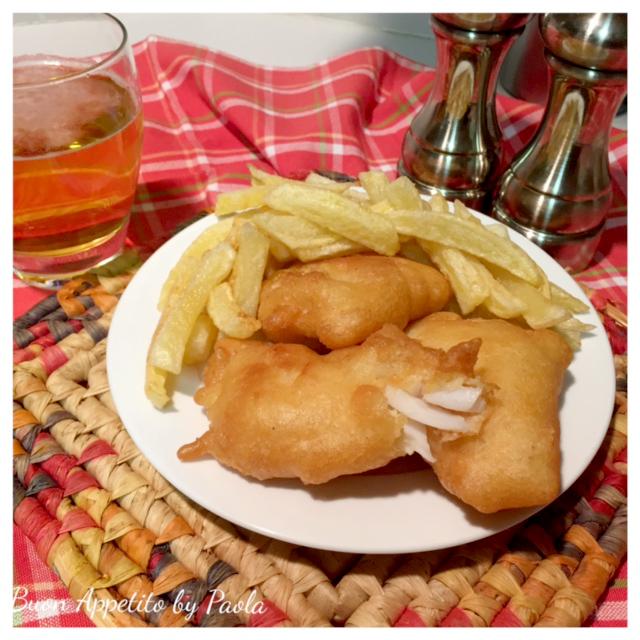 newest a3795 5185a Fish and Chips ricetta originale inglese con pastella alla birra