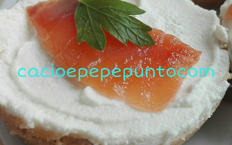 Base per cheesecake salata