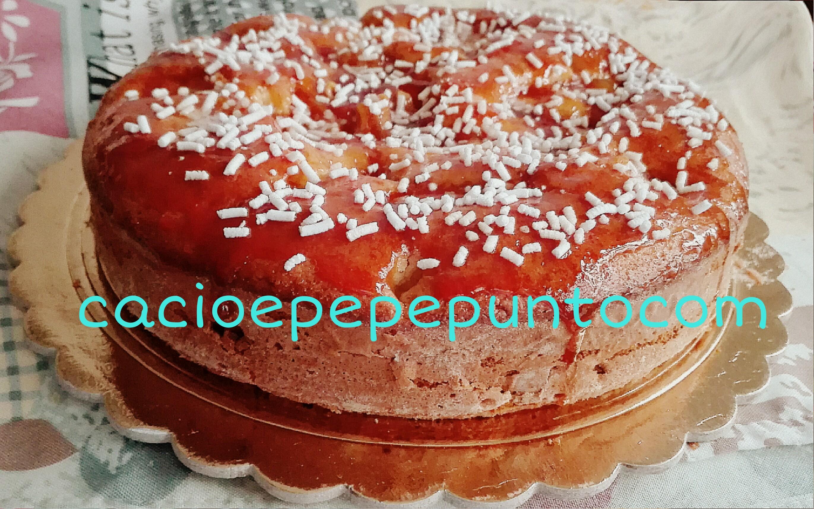 torta di mele glassata