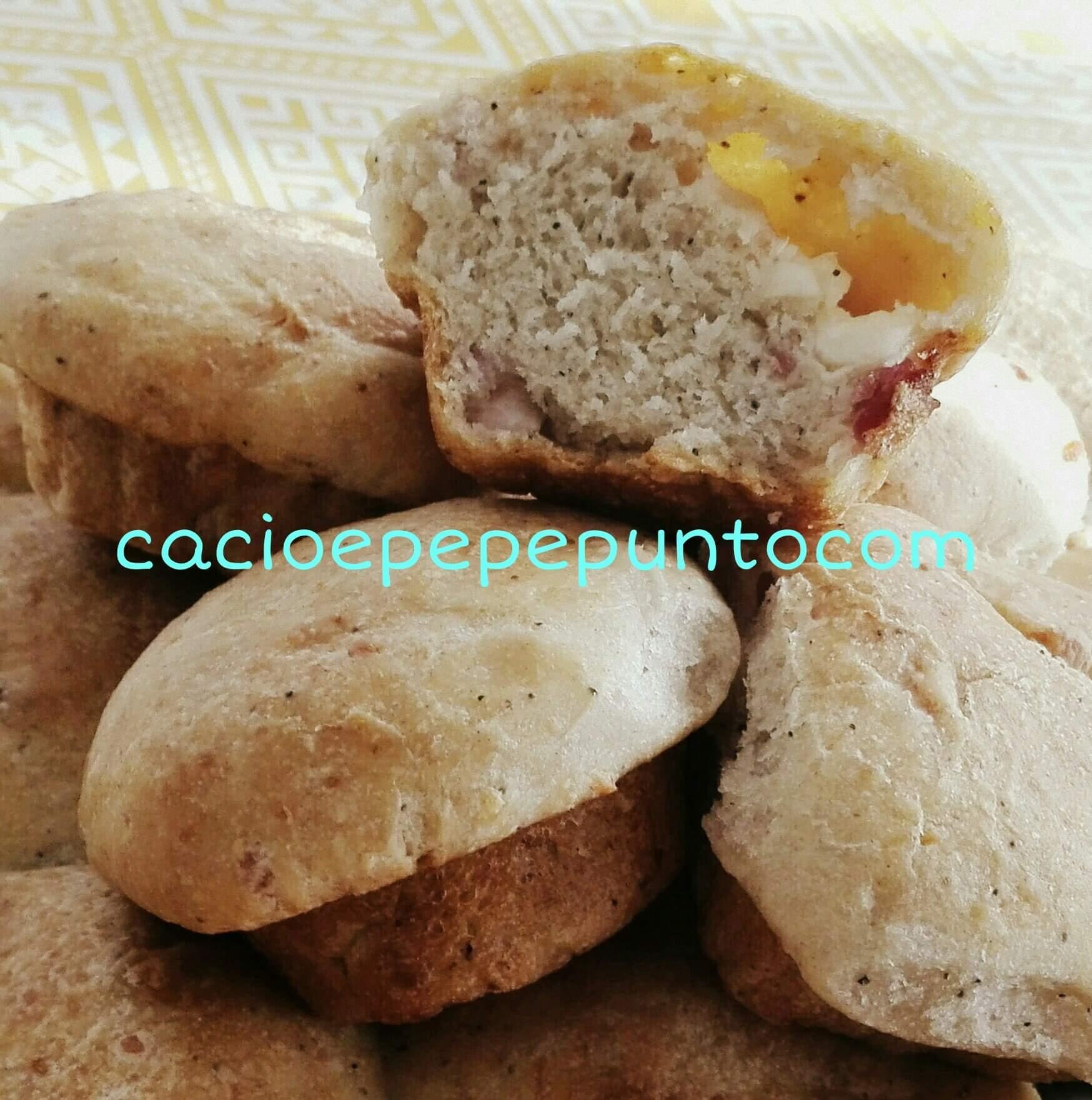 muffin di casatiello con lievito madre