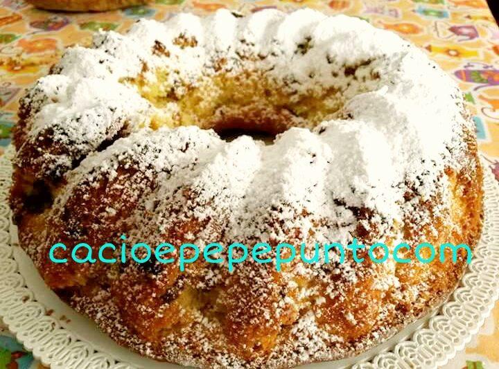 Torta uvetta e panna