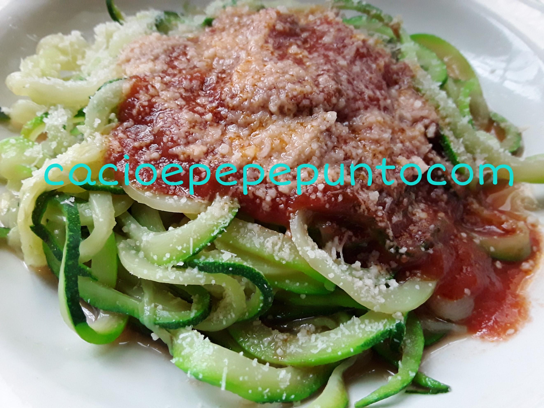 Spaghetti di zucchini