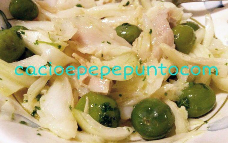 Insalata di baccalà e cipolle