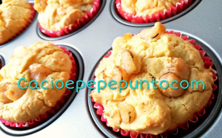 Muffin di semola ai gamberetti