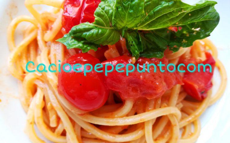 Salsa di pomodorini al burro