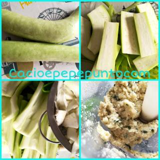 Zucchetta verde ripiena