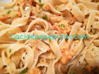 Lasagnette ai ricci di mare