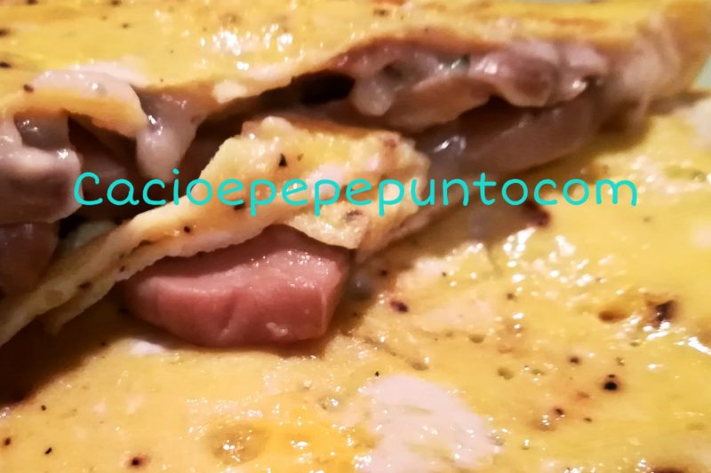 Omelette light ai funghi