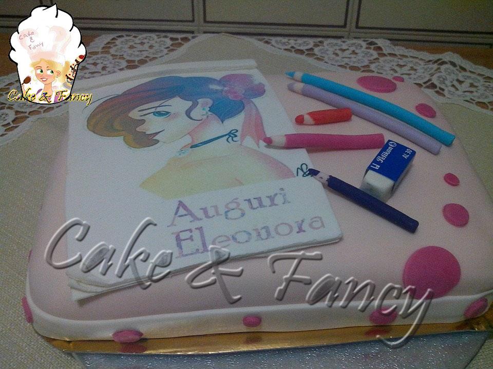 Cake Artista : Torta per un artista Cake & Fancy