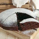 Torta cacao amaro senza uova