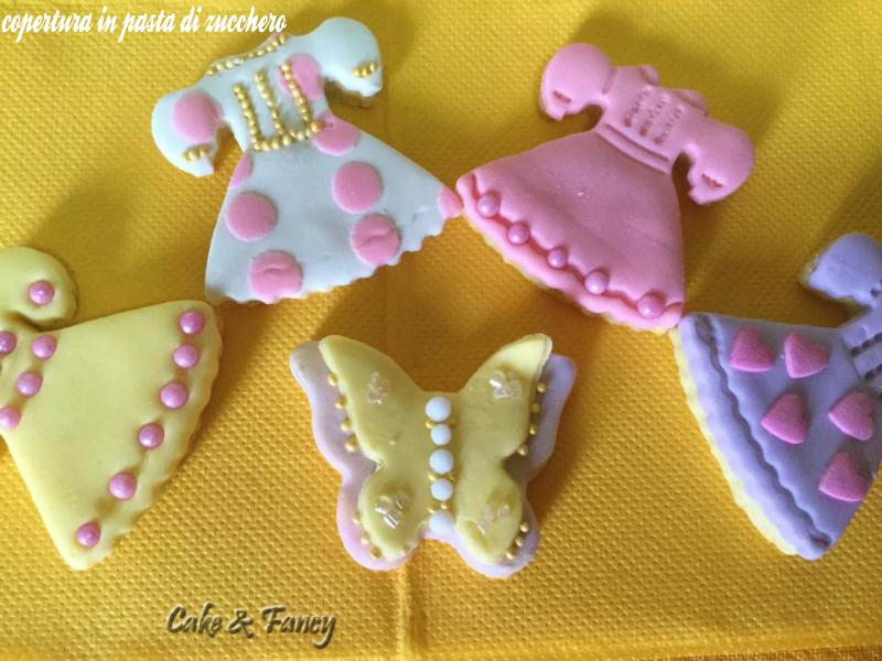 Biscotti con pasta di zucchero